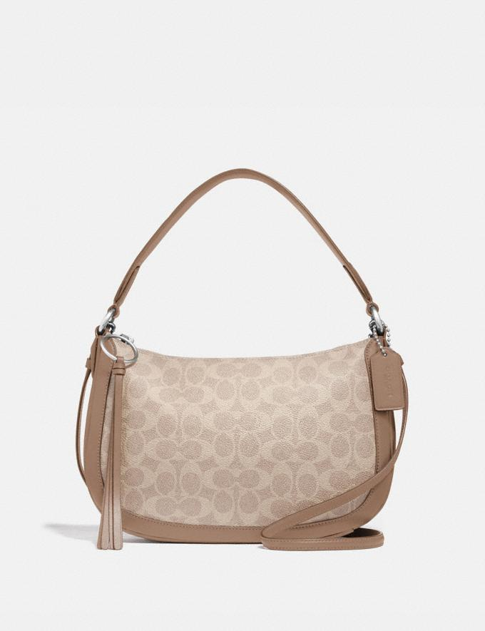 Coach Sutton Crossbody in Signature Canvas Lh/Sand Taupe New Women's New Arrivals