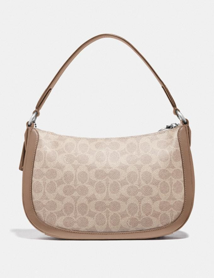 Coach Sutton Crossbody in Signature Canvas Lh/Sand Taupe New Women's New Arrivals Alternate View 2