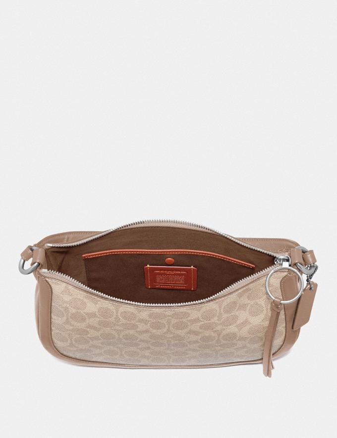 Coach Sutton Crossbody in Signature Canvas Lh/Sand Taupe New Women's New Arrivals Alternate View 3