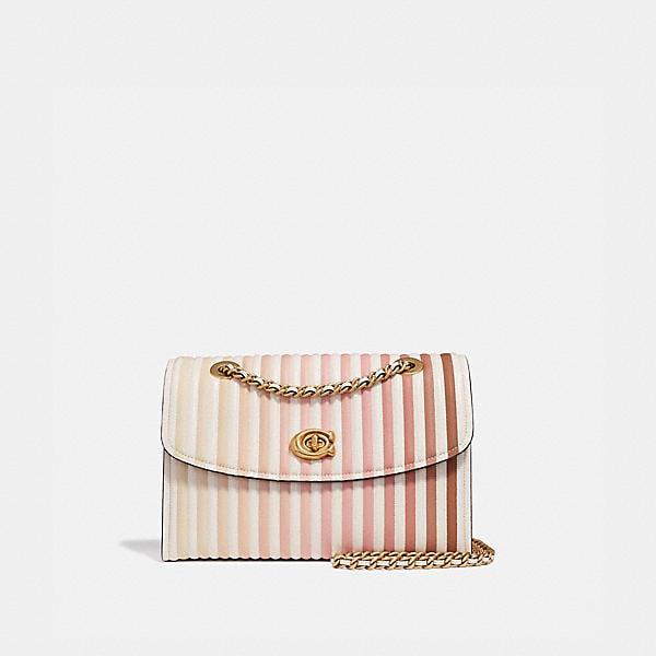 Coach - Parker Shoulder Bag With Ombre Quilting - 1