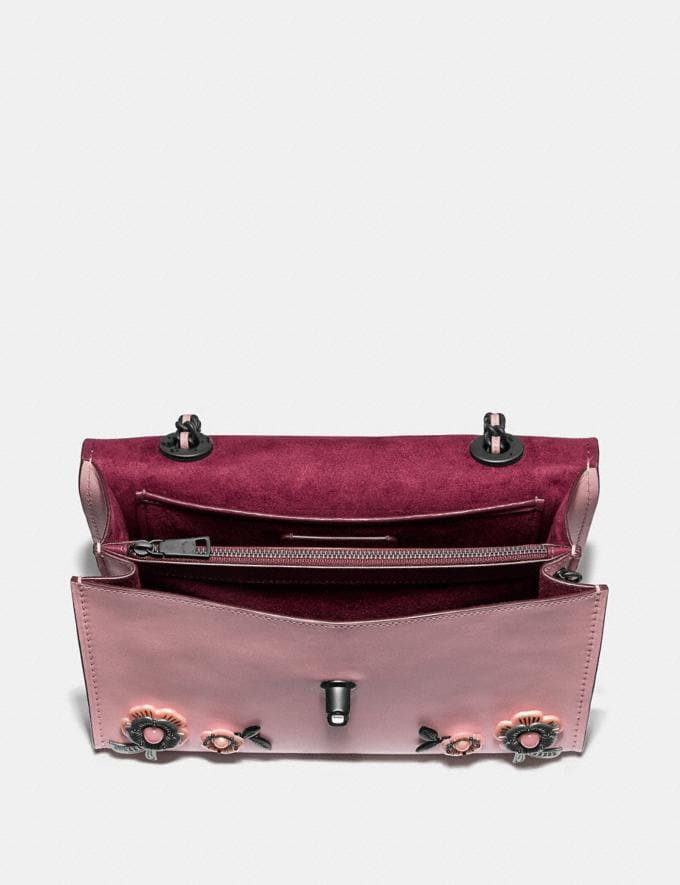 Coach Parker With Allover Tea Rose Stones Beechwood/Brass New Featured Online Exclusives Alternate View 2