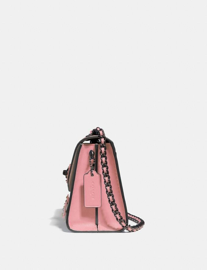 Coach Parker 18 With Allover Tea Rose Stones Light Blush/Brass New Women's New Arrivals View All Alternate View 1