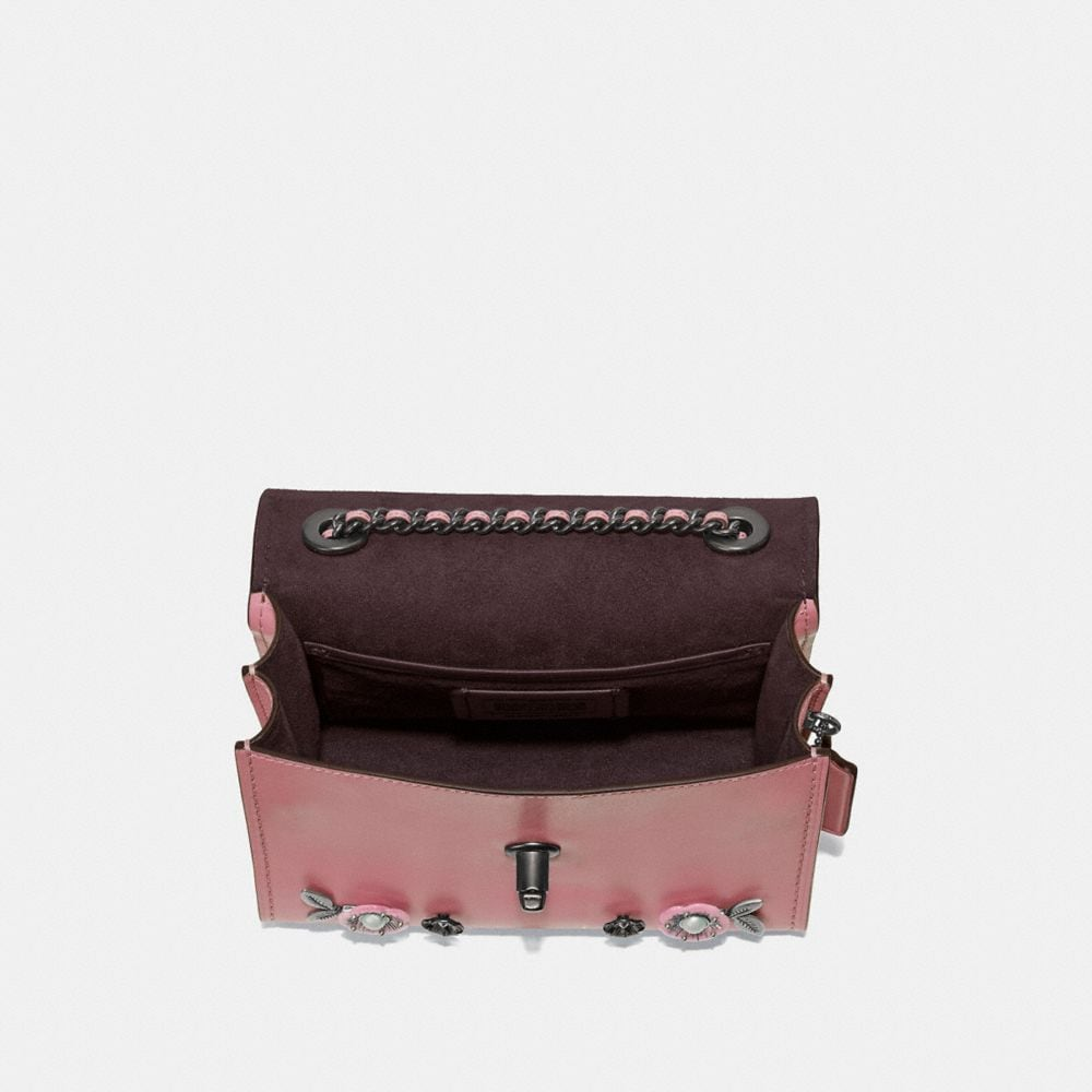 Coach Parker 18 With Allover Tea Rose Stones Alternate View 2