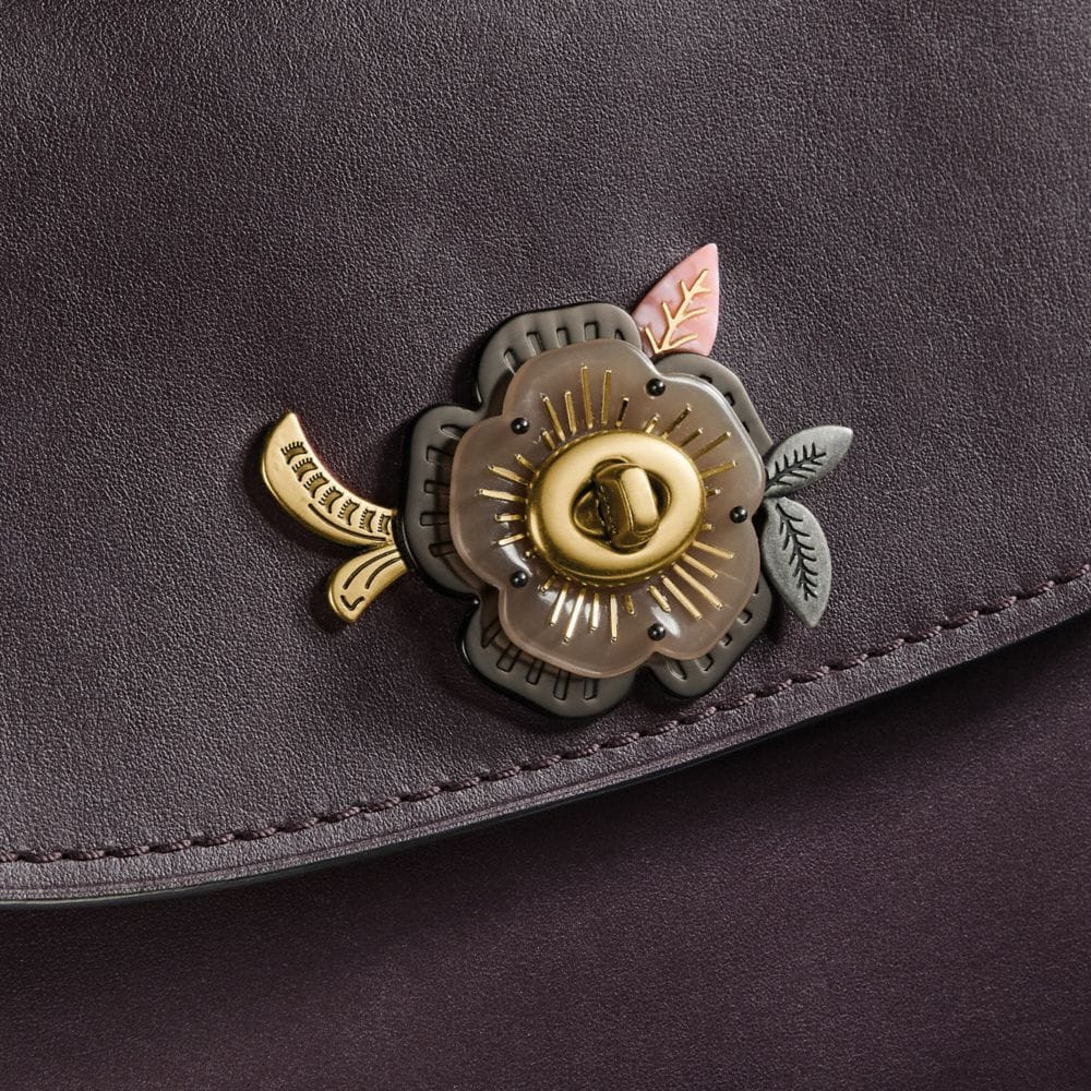 Coach Parker Top Handle With Tea Rose Stones Alternate View 3