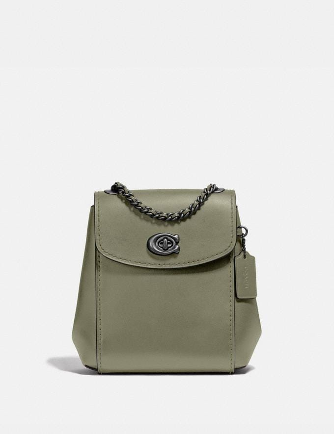 Coach Parker Convertible Backpack 16 Brass/Orchid Women Bags Backpacks
