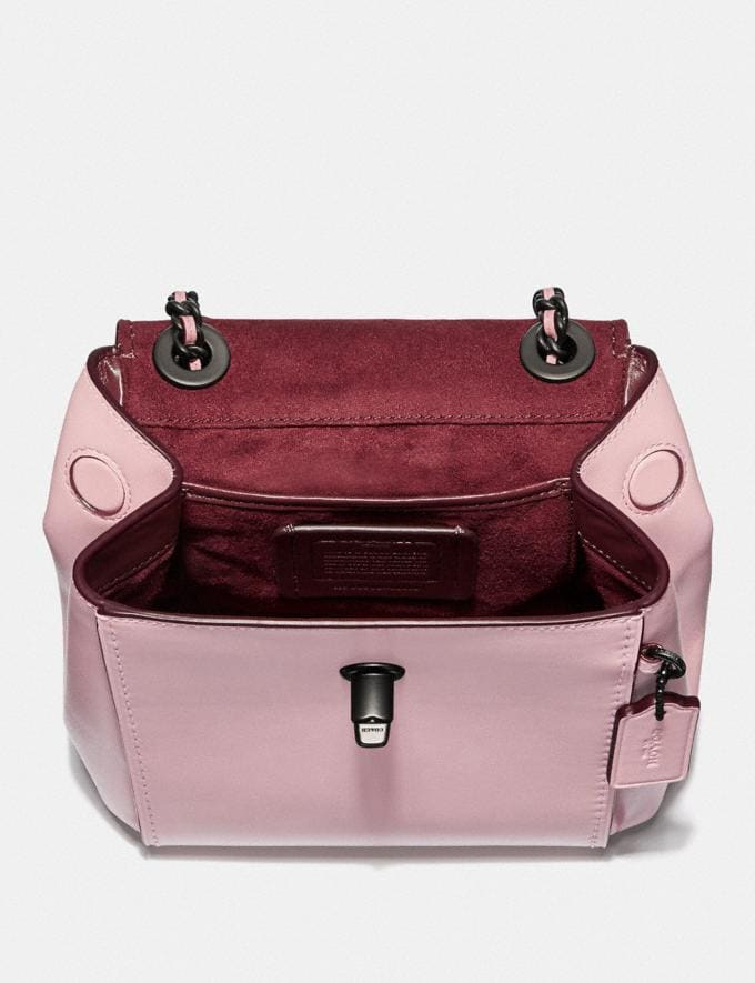 Coach Parker Convertible Backpack 16 With Tea Rose Stones Blossom/Pewter Women Edits Perfect Pastels Alternate View 2