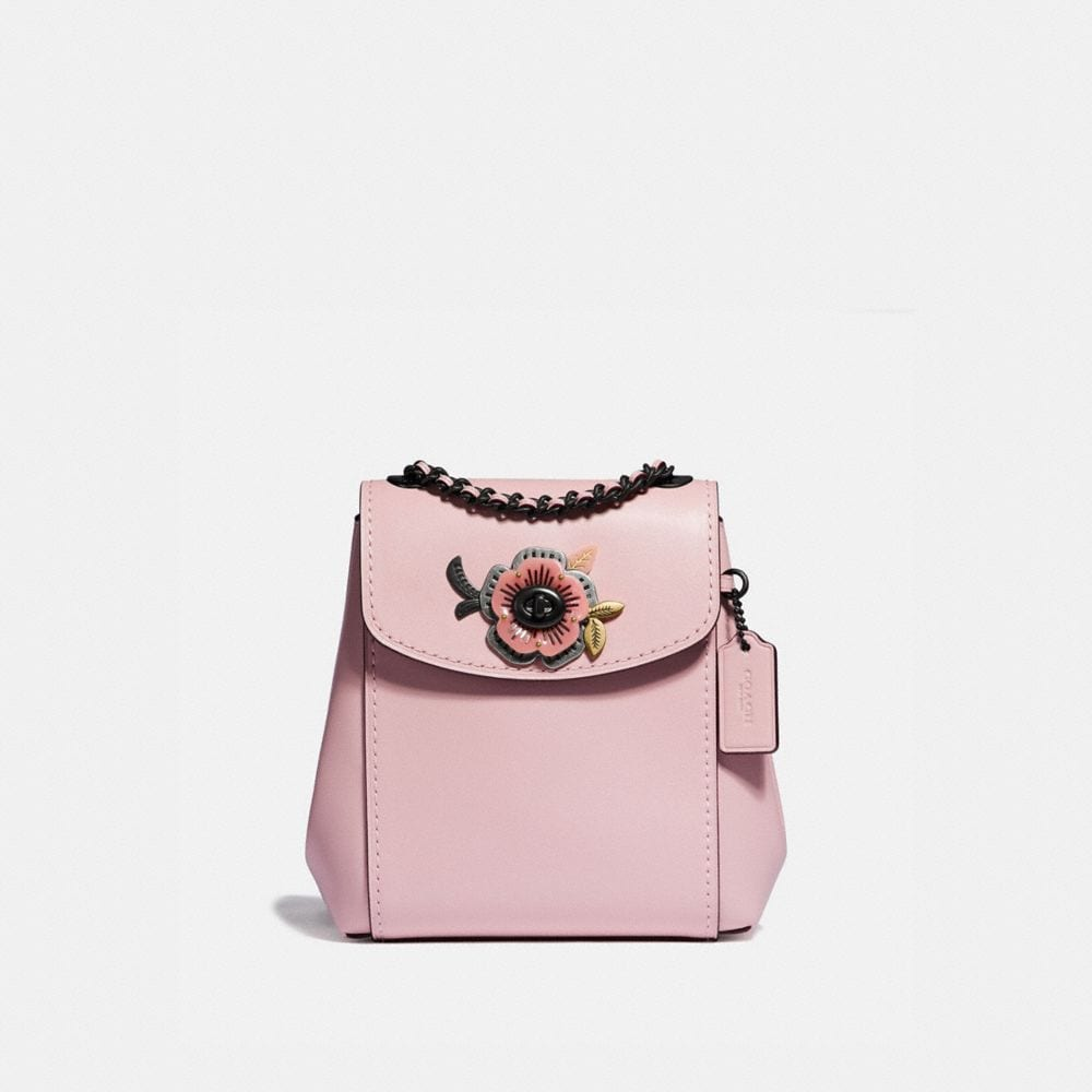 Coach Parker Convertible Backpack 16 With Tea Rose Stones