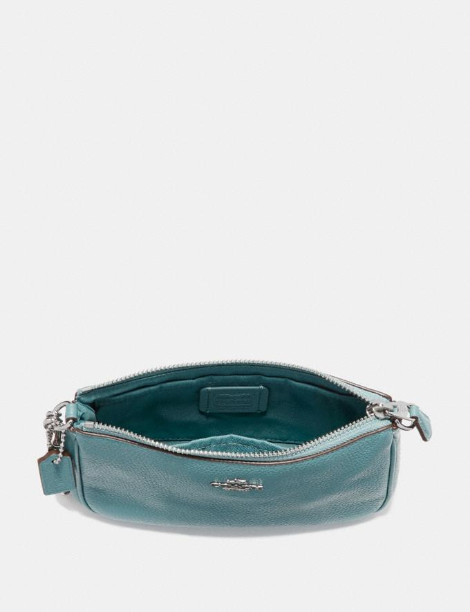 Coach Nolita Wristlet 19 Heather Grey/Dark Gunmetal Personalise For Her Wallets Alternate View 1