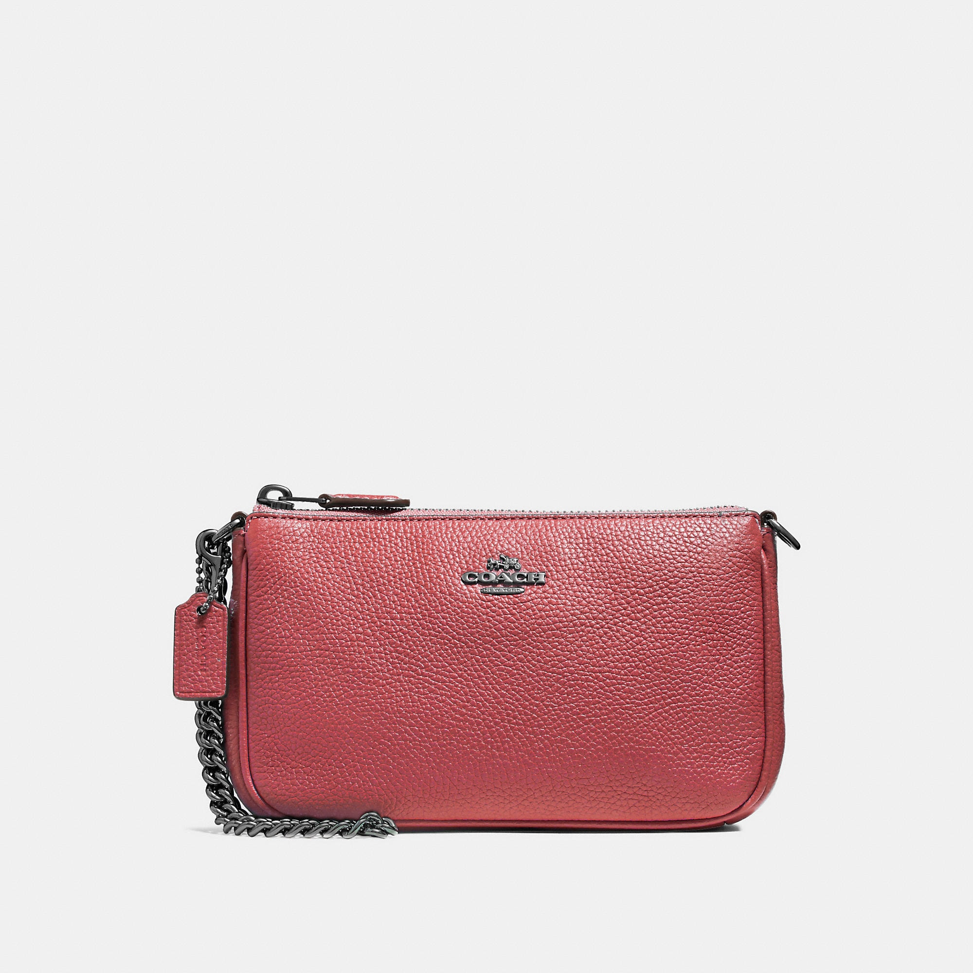 9938cb9d7b04 ... ireland coach nolita wristlet 19 womens in washed red dark gunmetal  8232a 51f9f