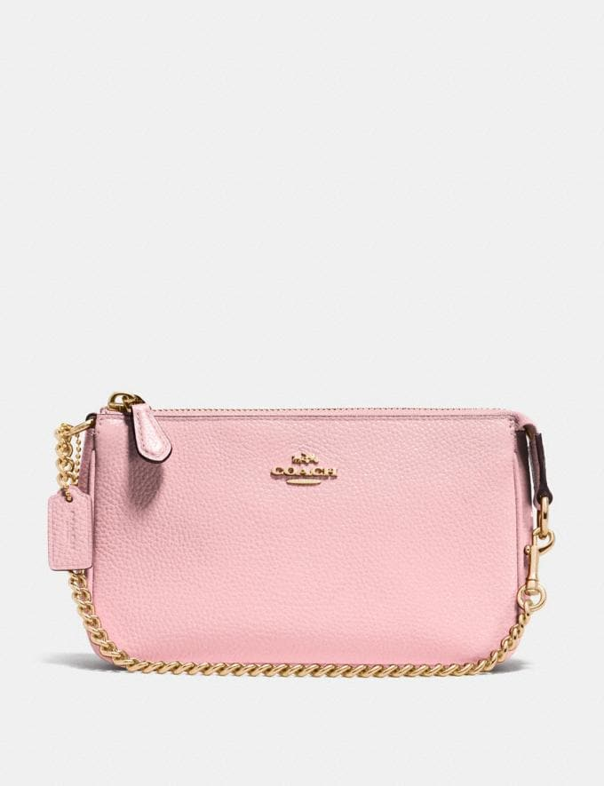 Coach Nolita Wristlet 19 Pink