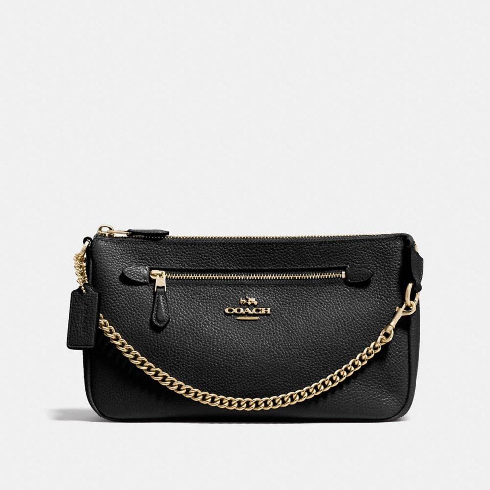 Nolita Wristlet 24 in Polished Pebble Leather