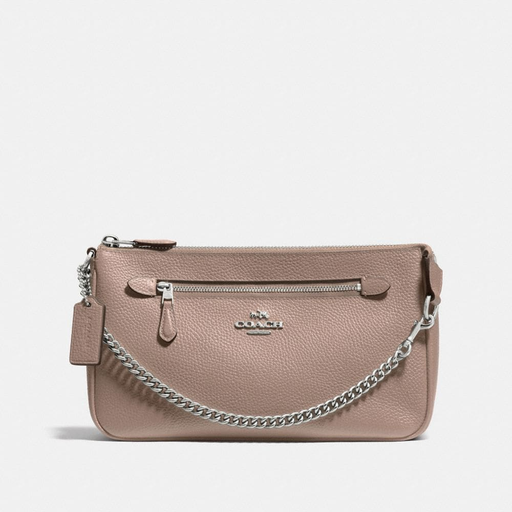 NOLITA WRISTLET 24 IN PEBBLE LEATHER