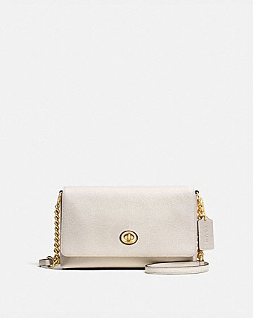 CROSSTOWN CROSSBODY IN POLISHED PEBBLE LEATHER