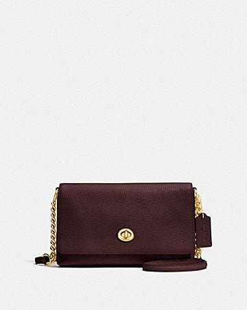 CROSSTOWN CROSSBODY IN PEBBLE LEATHER