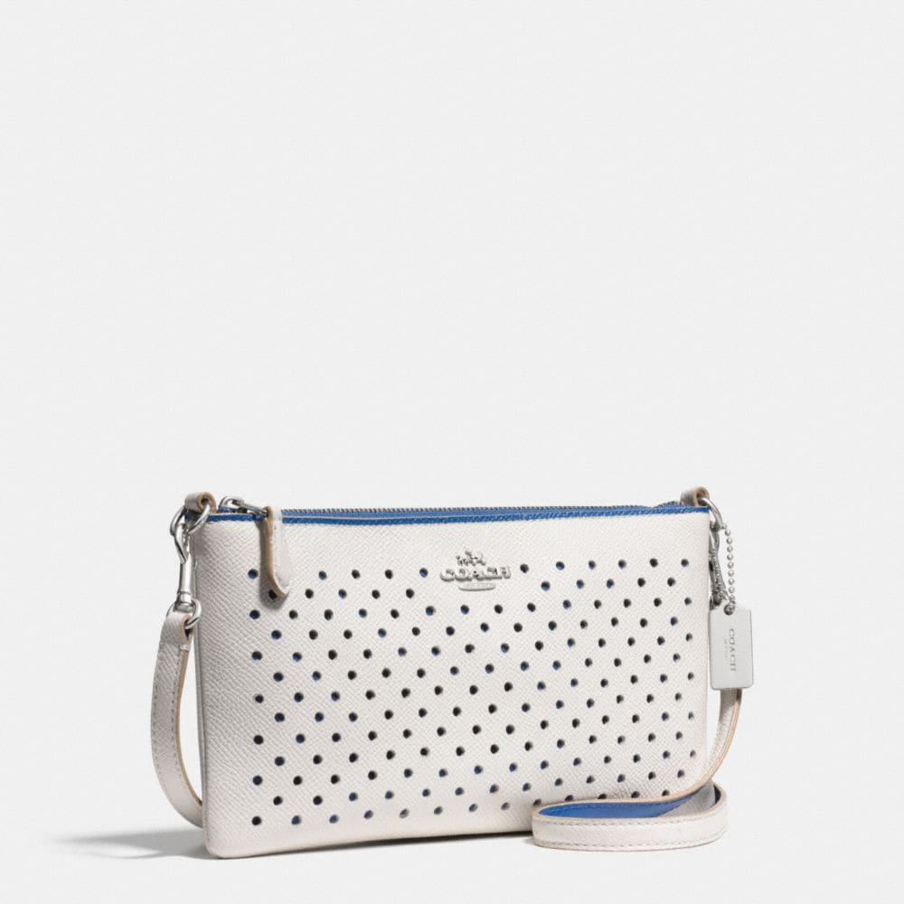 Herald Crossbody in Perforated Leather - Autres affichages A2