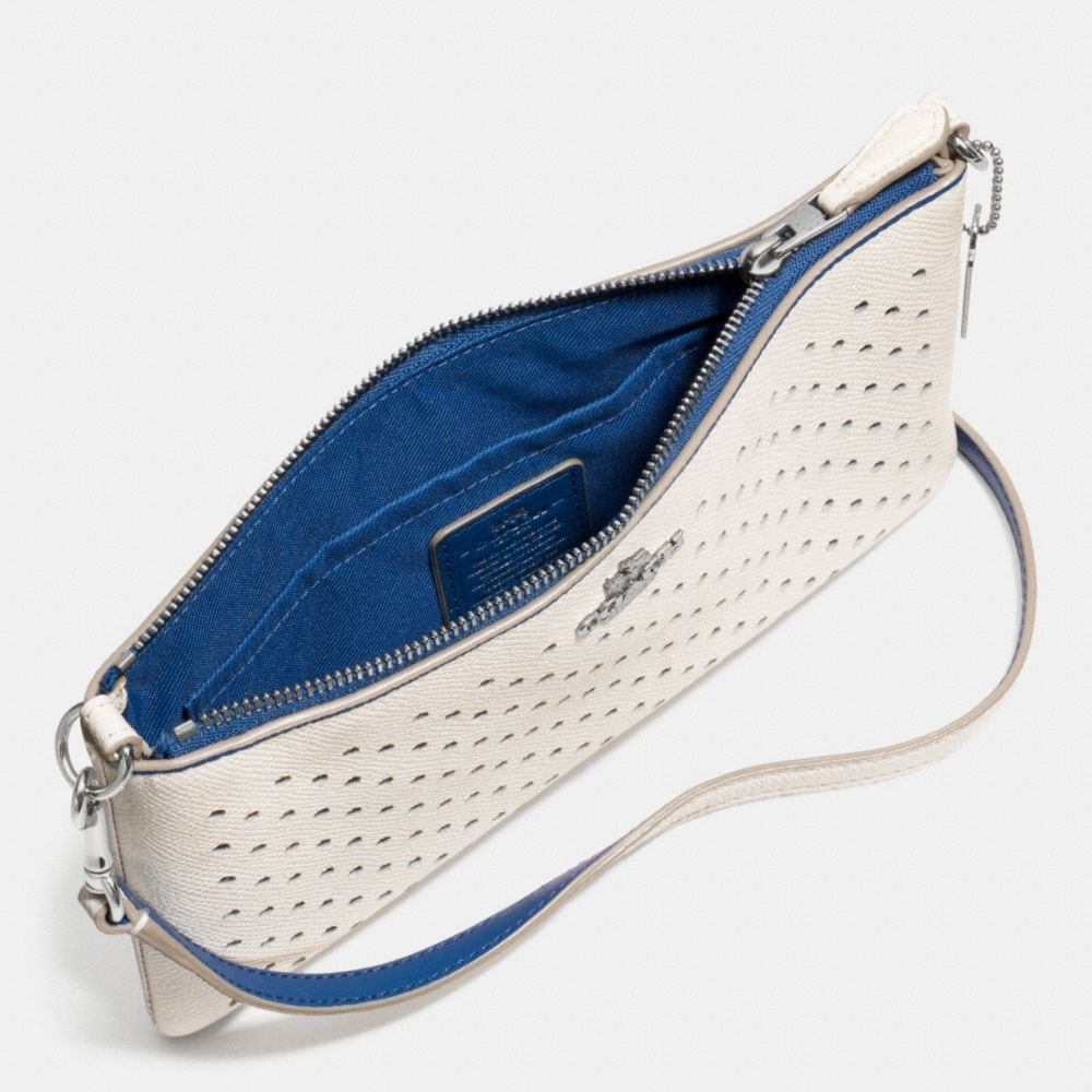 Herald Crossbody in Perforated Leather - Autres affichages A3