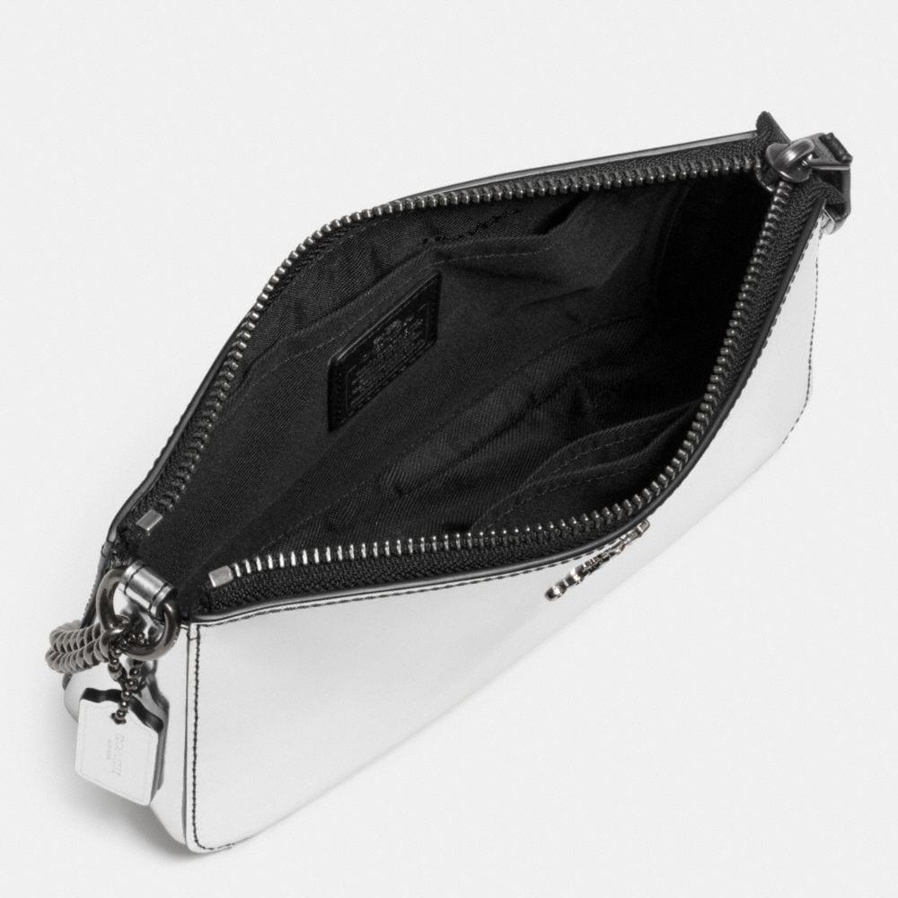 Nolita Wristlet 19 in Mirror Metallic Leather - Alternate View A1