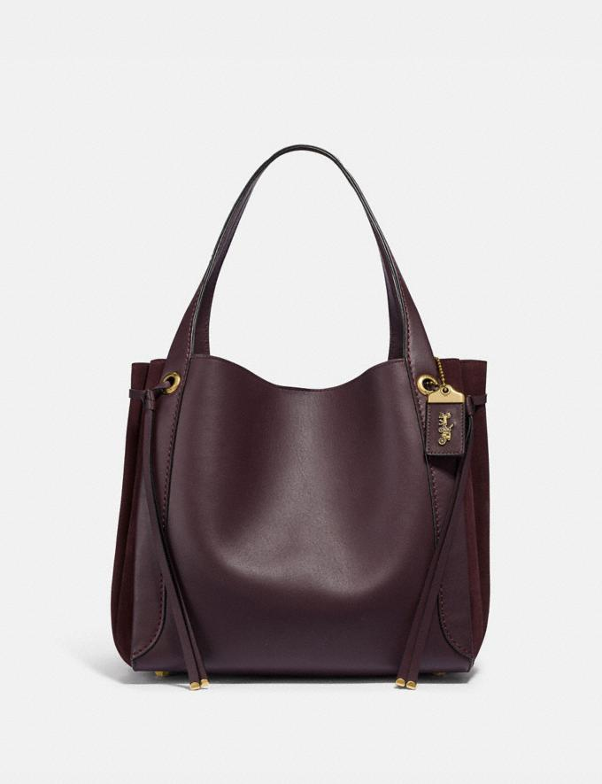 Coach Harmony Hobo Oxblood/Brass SALE 30% off Select Full-Price Styles Women's
