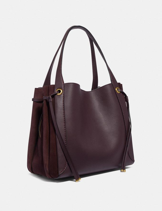 Coach Harmony Hobo Oxblood/Brass SALE 30% off Select Full-Price Styles Women's Alternate View 1