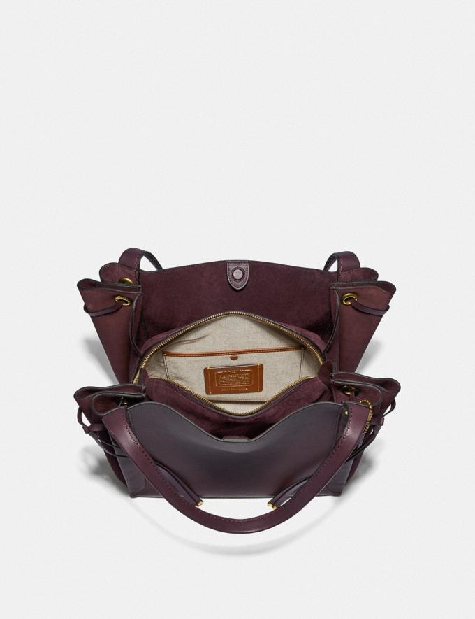 Coach Harmony Hobo Oxblood/Brass SALE 30% off Select Full-Price Styles Women's Alternate View 2