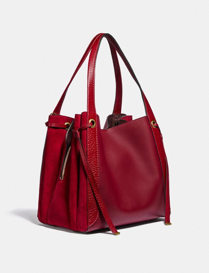 Coach Harmony Hobo Oxblood/Brass Women Bags Shoulder Bags Alternate View 1