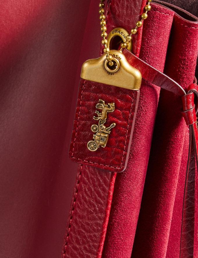Coach Harmony Hobo Oxblood/Brass Women Bags Shoulder Bags Alternate View 4