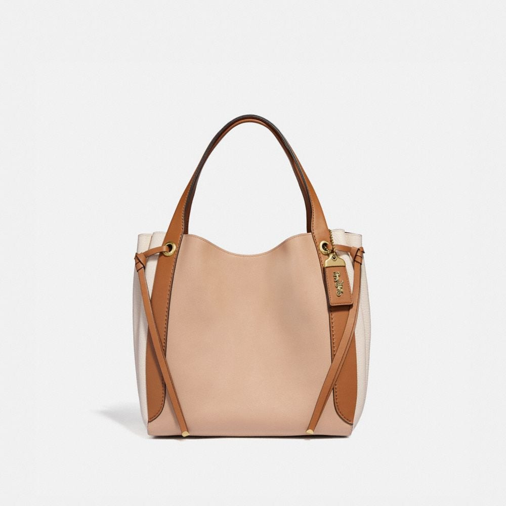 Coach Bolso Hobo Con Bloques De Color