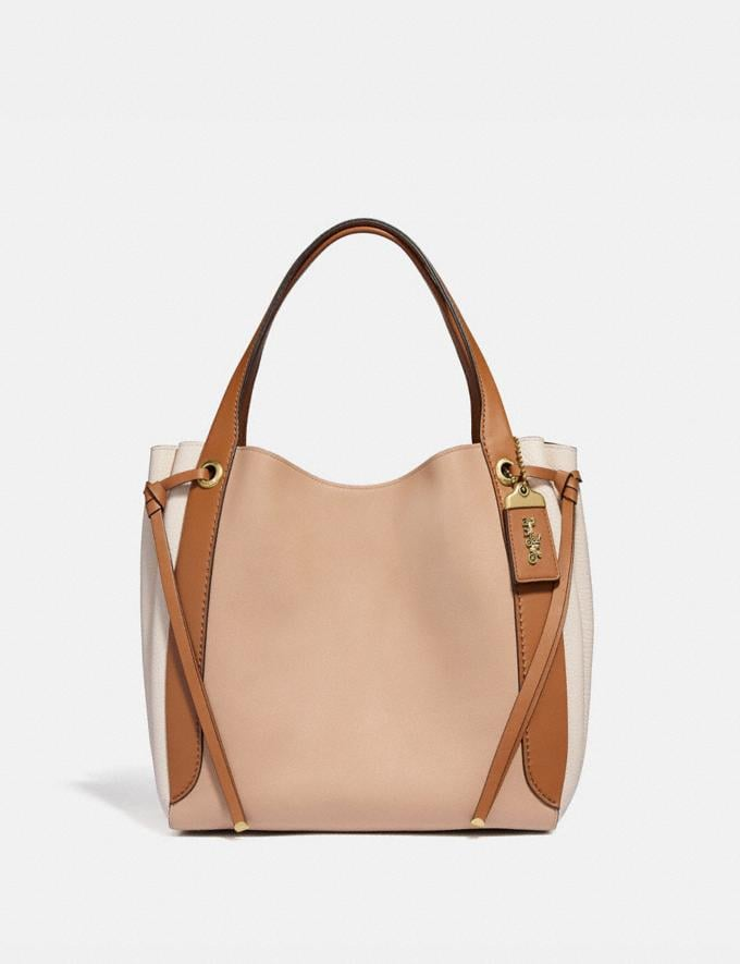 Coach Harmony Hobo in Colorblock Beechwood/Brass Gifts For Her Bestsellers