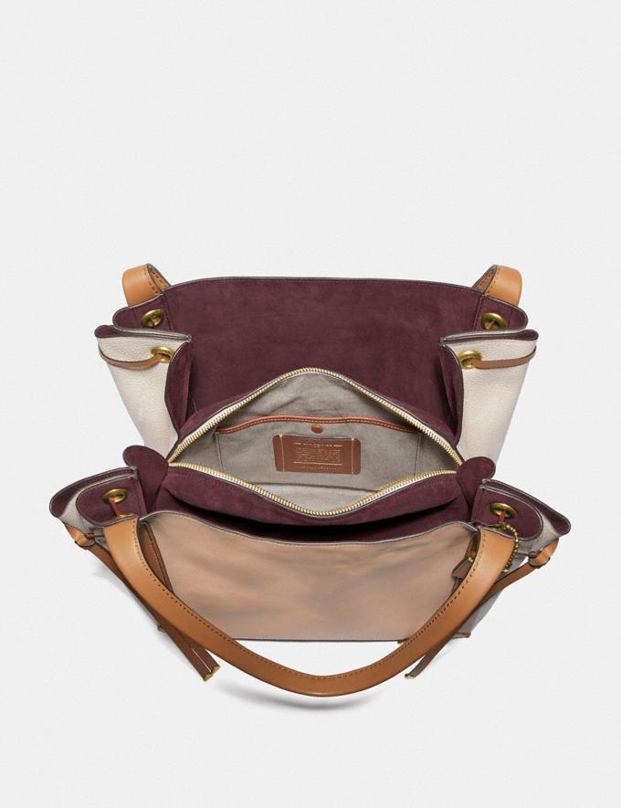 Coach Harmony Hobo in Colorblock Beechwood/Brass Gifts For Her Bestsellers Alternate View 2