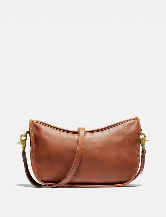 Coach Restored Large Swinger Bag Brass/British Tan New Featured The Coach Originals