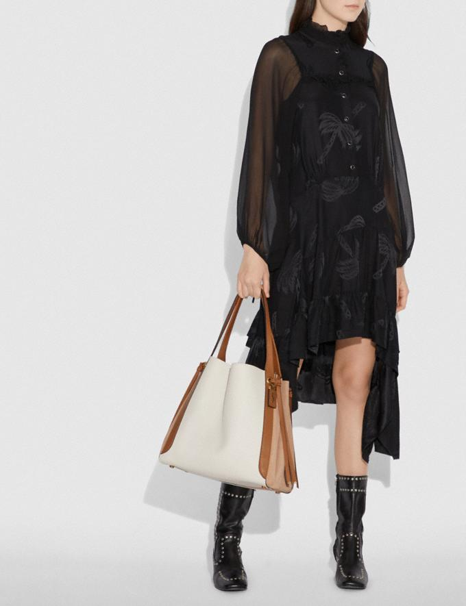 Coach Harmony Hobo 33 in Colorblock Chalk/Brass Women Bags Shoulder Bags Alternate View 4