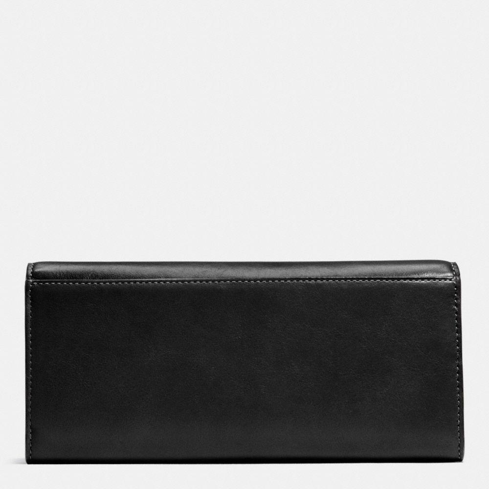 Turnlock Slim Envelope Wallet in Smooth Leather - Alternate View A1