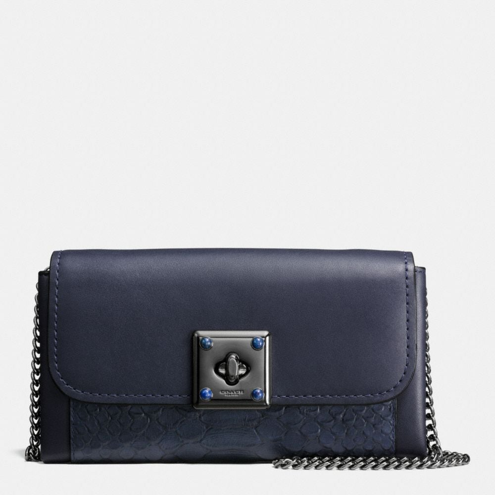 DRIFTER WALLET IN EXOTIC EMBOSSED LEATHER
