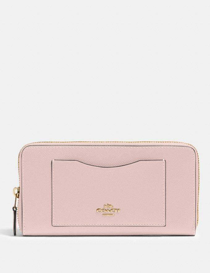 Coach Accordion Zip Wallet Im/Blossom Women Wallets