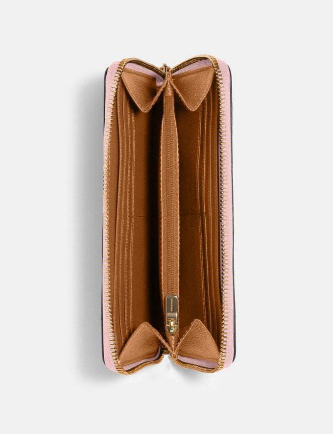Coach Accordion Zip Wallet Im/Blossom Accessories Alternate View 1