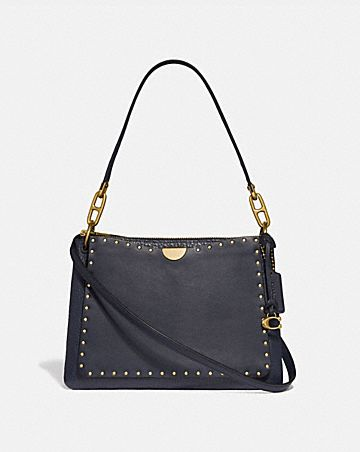 DREAMER SHOULDER BAG WITH RIVETS ... f5237cd845c81