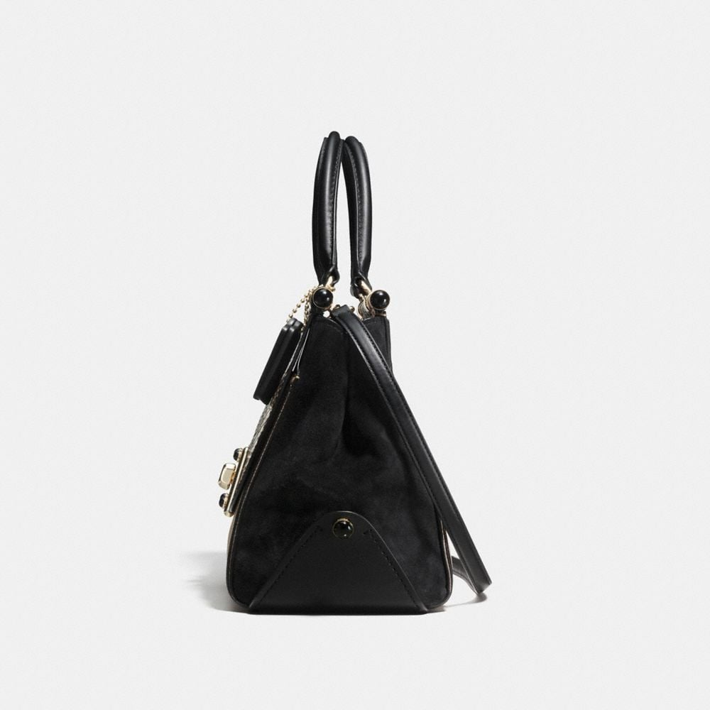 Coach Drifter Carryall in Colorblock Exotic Embossed Leather Alternate View 1