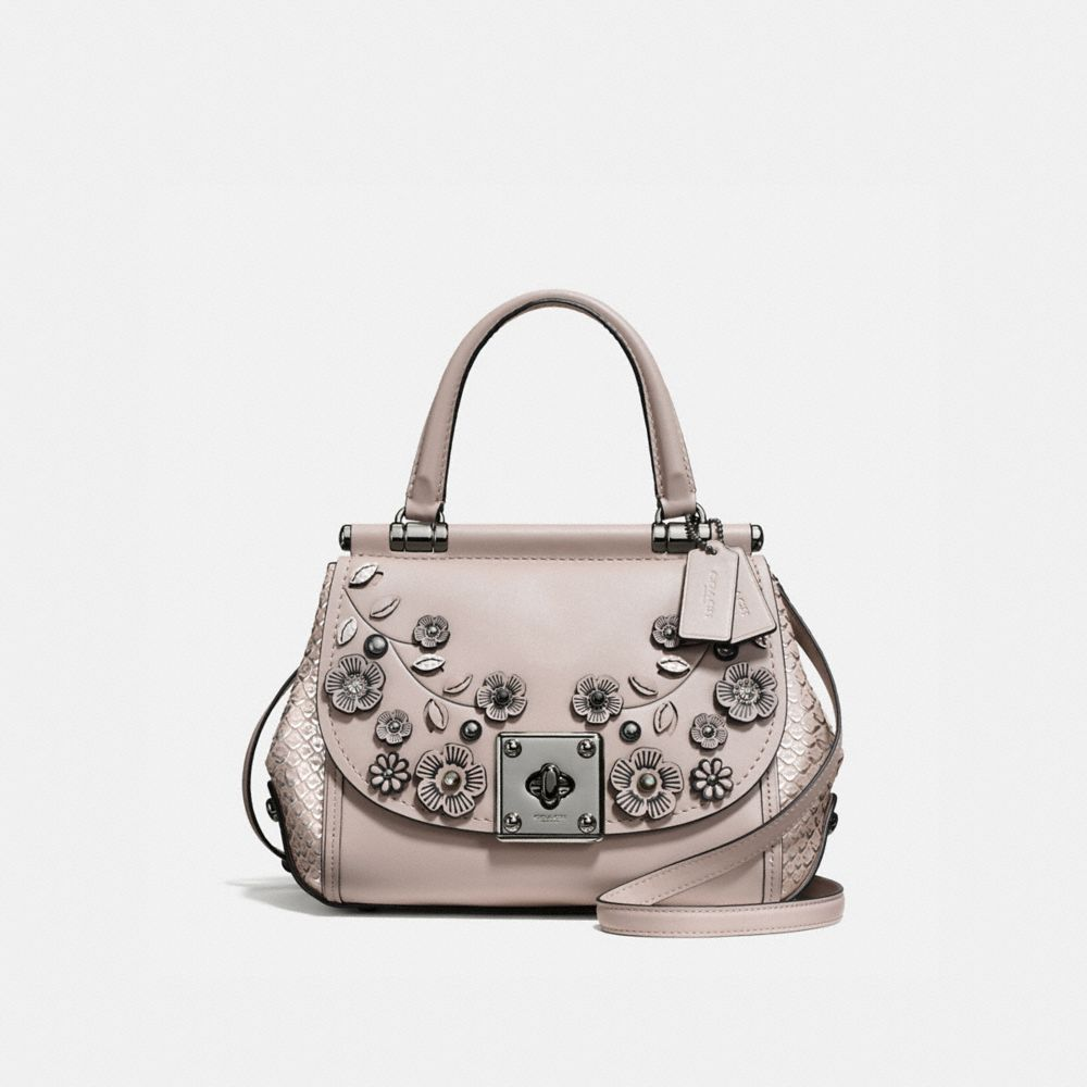 Coach Drifter Top Handle With Willow Floral