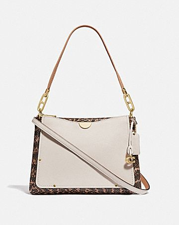 556fea4332d1 DREAMER SHOULDER BAG WITH SNAKESKIN DETAIL ...