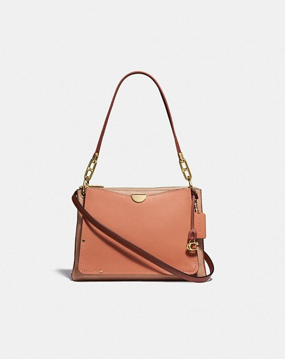 Coach DREAMER SHOULDER BAG IN COLORBLOCK