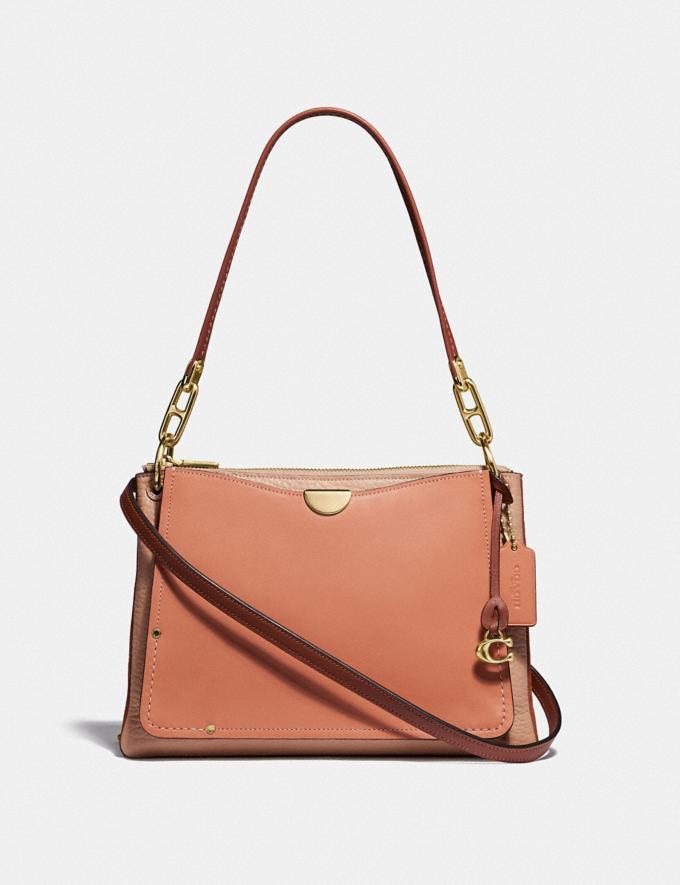 Coach Dreamer Shoulder Bag in Colorblock Sunrise Multi/Gold Women Bags Shoulder Bags
