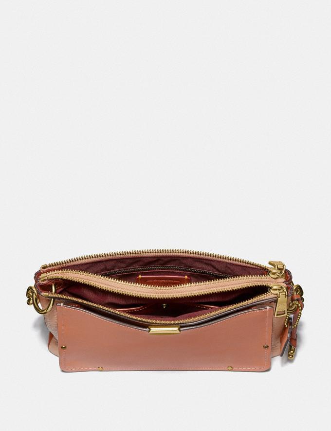 Coach Dreamer Shoulder Bag in Colorblock Sunrise Multi/Gold Women Bags Shoulder Bags Alternate View 2