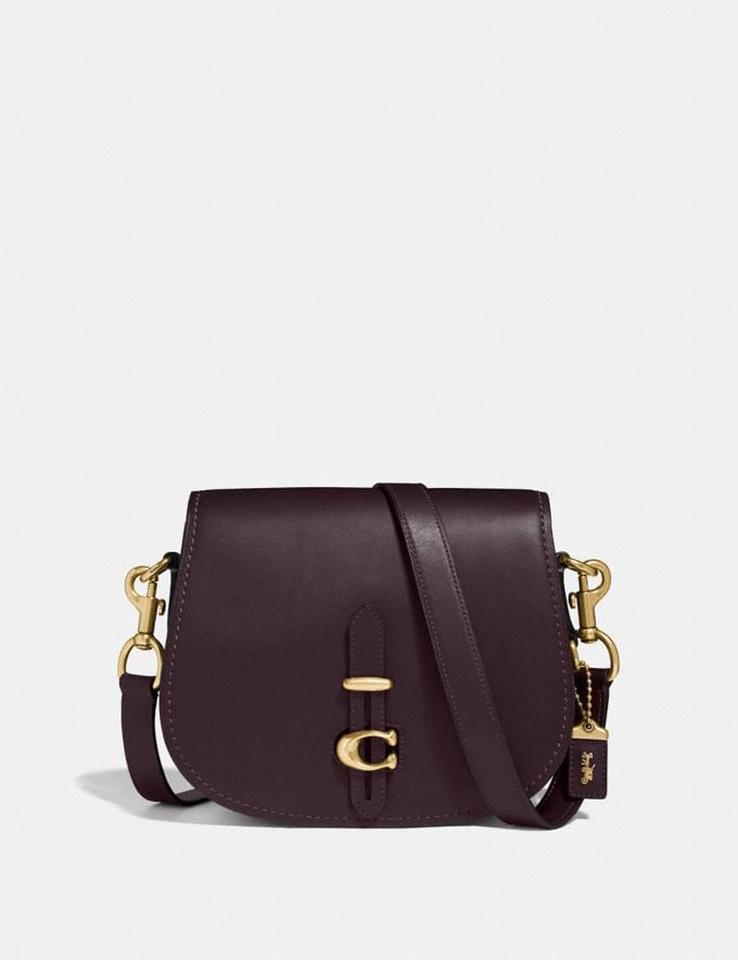 Coach Saddle Brass/Oxblood Gifts For Her Under $500