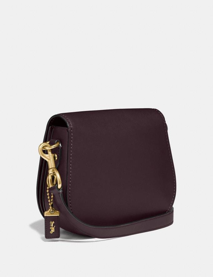 Coach Saddle Brass/Oxblood Gifts For Her Under $500 Alternate View 1