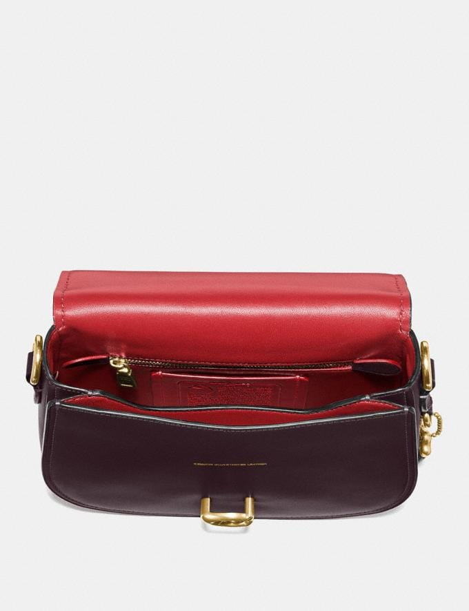 Coach Saddle Brass/Oxblood Gifts For Her Under $500 Alternate View 2