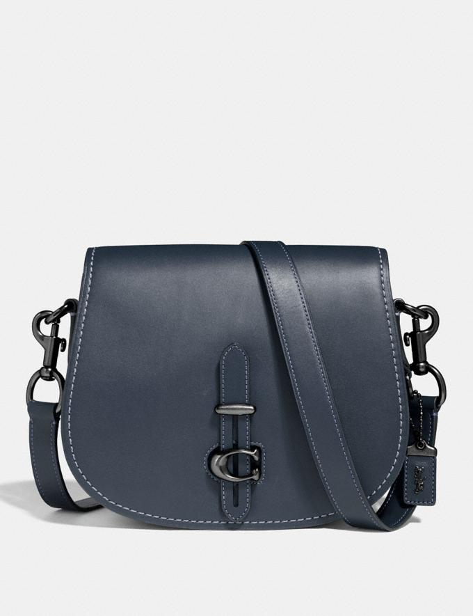 Coach Saddle Midnight Navy/Pewter Bestsellers
