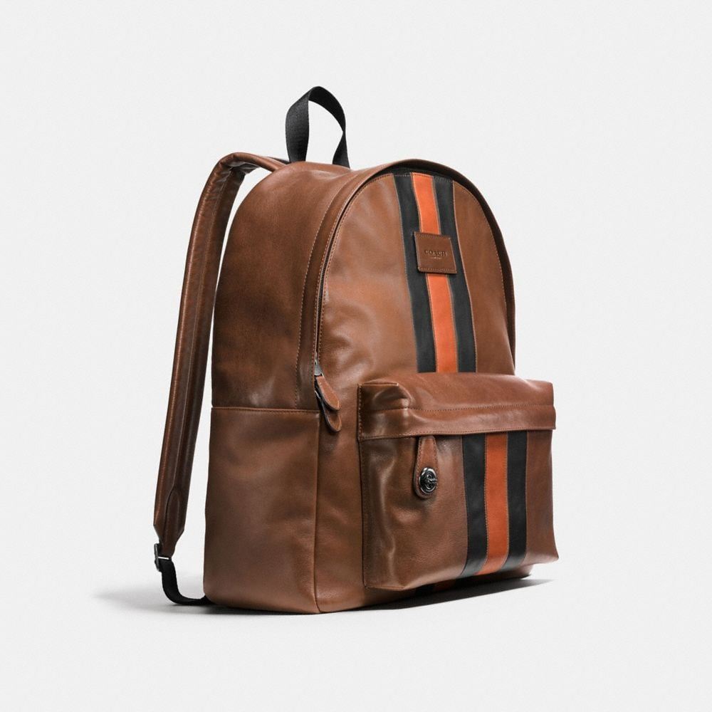 Modern Varsity Campus Backpack in Sport Calf Leather - Autres affichages A2