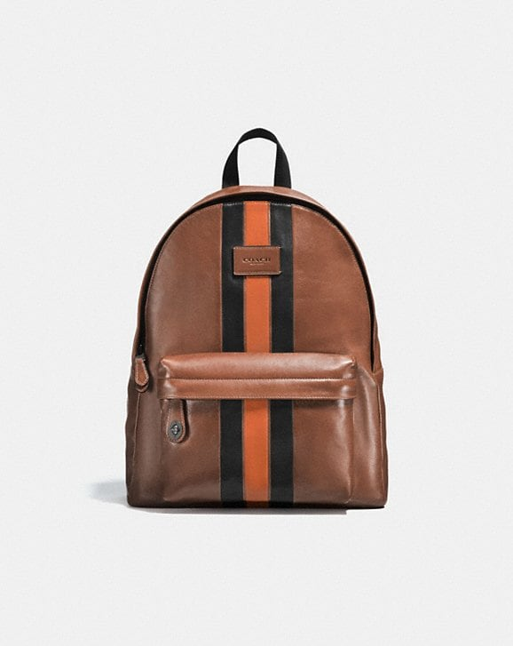 d3f916c0122 COACH  Campus Backpack With Varsity Stripe