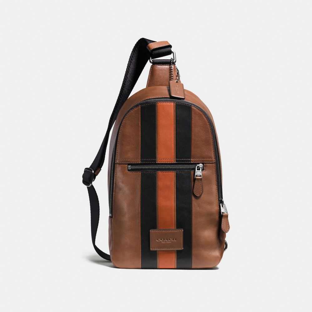 Coach Campus Pack With Varsity Stripe