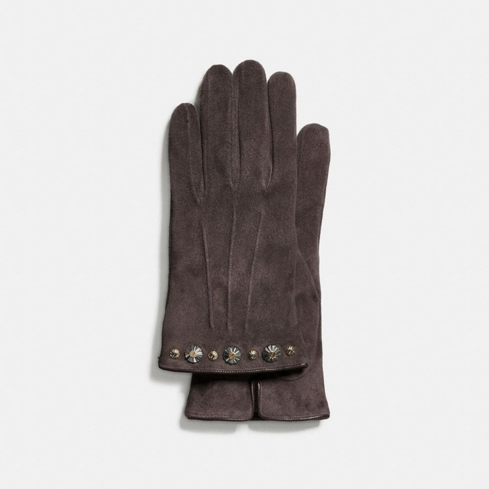 DAISY RIVET SUEDE GLOVE
